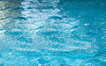 Shot of surface of water in swimming pool Royalty Free Stock Photo