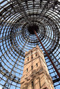 Shot Tower inside Melbourne Central vertical image Royalty Free Stock Photo
