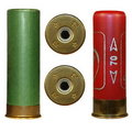 Shotgun cartridges isolated Stock Image