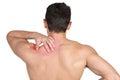 Shoulder pain Royalty Free Stock Photo