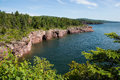 Shovel Point on Lake Superior Royalty Free Stock Photo