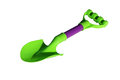Shovel toy. Royalty Free Stock Photo
