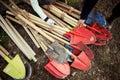 Shovels Royalty Free Stock Photo