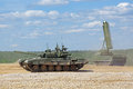 Show of military equipment ground alabino moscow oblast russia jun on ground at the international Stock Photos