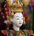 Show model drama heroine for marionette puppet the nd year of rattanakosin city under royal benevolence at monday april   Stock Image