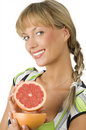 Showing grapefruit Stock Photos