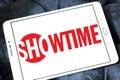 Showtime broadcasting company logo Royalty Free Stock Photo