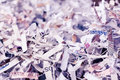 Shredded paper Royalty Free Stock Photo