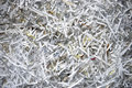Shredded Paper Cutting Detail Royalty Free Stock Photo