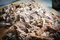 Shredded Pulled Pork Royalty Free Stock Photo
