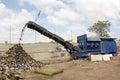 Shredder machine Royalty Free Stock Photo