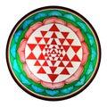 Shree yantra Royalty Free Stock Photo