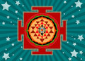 Shree Yantra Stock Photography