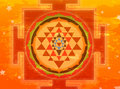 Shree Yantra Royalty Free Stock Photography