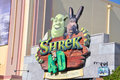 Shrek 4-D film in Universal Studios Florida Stock Photography