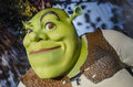 Shrek in the famous wax museum madame tussauds london england Stock Photos