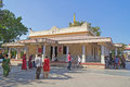 Shri krishna temple at bhalka tirtha gujarat january india of lord between veraval and somnath this place lord Stock Images
