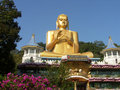 Shri-lanka, the Buddistsky Gold temple Royalty Free Stock Images
