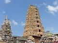 Shri-lanka, the Buddistsky temple Stock Photo