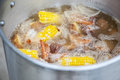 Shrimp Boil Royalty Free Stock Photo