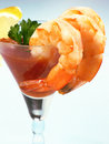 Shrimp Cocktail Royalty Free Stock Photo