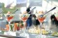 Shrimp cocktails Royalty Free Stock Photo