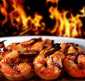 Shrimp grilled Royalty Free Stock Photo