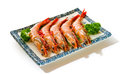 Shrimp isolated on the background Stock Photo