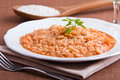 Shrimp risotto. Stock Photography