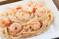 Shrimp Scampi Stock Image