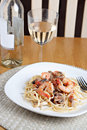 Shrimp Scampi Dish Royalty Free Stock Photography