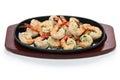 Shrimp scampi Royalty Free Stock Photo