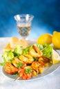 Shrimp skew Royalty Free Stock Photo