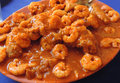 Shrimp stew Royalty Free Stock Photo