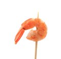 Shrimp on a stick isolated white background Royalty Free Stock Image