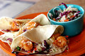 Shrimp Tacos Royalty Free Stock Photography