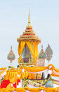 Shrine with Buddha relic in Thailand Royalty Free Stock Photos