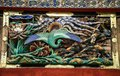 Peacock wood carving, Toshogu shrine, tochigi prefecture, Japan