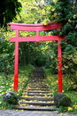 Shrine Gate Royalty Free Stock Images