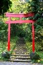 Shrine Gate Royalty Free Stock Photo