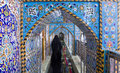The shrine of imam hussein in karbala iraq – may grandson prophet mohammed prophet islam third at shiite Royalty Free Stock Photo