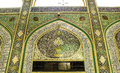The shrine of imam hussein in karbala iraq – may grandson prophet mohammed prophet islam third at shiite Stock Photography