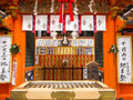 Shrine at Kiyomizudera temple, Kyoto Royalty Free Stock Photo