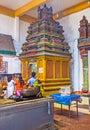 The shrine in Munneswaram Kovil