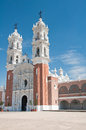 Shrine of Our Lady of Ocotlan, Tlaxcala Stock Images