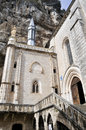 Shrine of our lady of rocamadour france Stock Photos