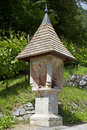 Shrine in Pusteria Stock Image