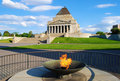 Shrine of Remembrance Melbourne Stock Image