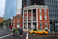 The shrine of saint elizabeth ann seton and james watson house ney york oct left next to right on oct it s a new york city Royalty Free Stock Photography