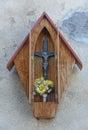 Shrine small in murano island venice italy Stock Photography
